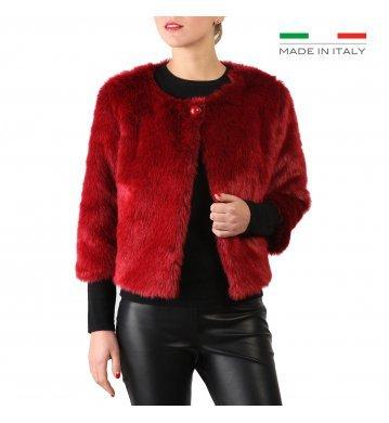 Fontana 2.0 Donna Giacche Rosso AMBRA, Taglia: L