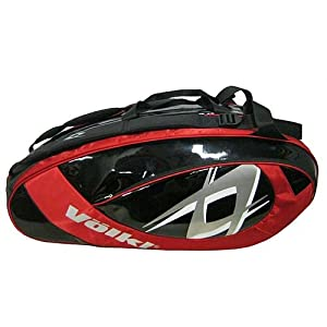 Volkl Team 2011 Mega Tennis Bag, Red/Black, 75 x 39 x 33.5 cm