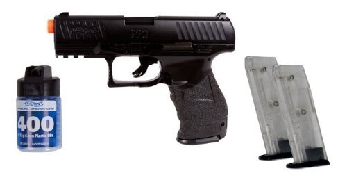 Officially Licensed Walther Ppq Spring Airsoft Pistol Special Ops. Fps-300 (Black)