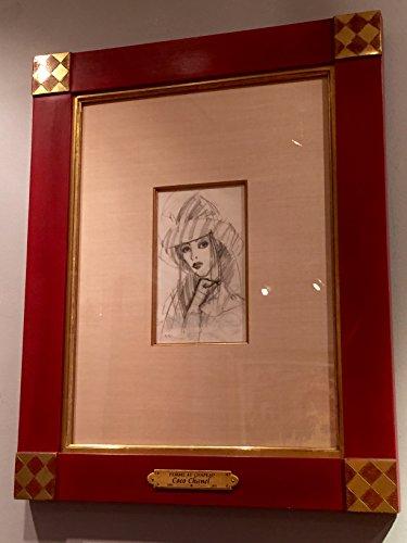 Femme au Chapeau (Chanel Framed Art compare prices)