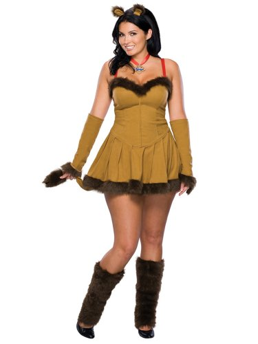 Wizard Courageous Lion Movie Costume Sexy Animal Costume