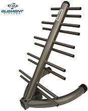 New Element Fitness - Vertical NeopreneVinyl Dumbbell Tower - Holds 10 pairs