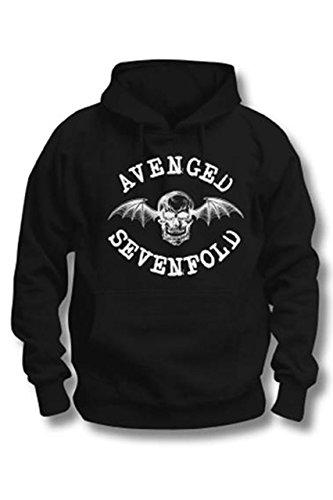 Avenged Sevenfold -  Felpa con cappuccio  - Uomo nero M