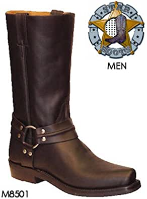 Star Boots Leather Harness Boot M8501