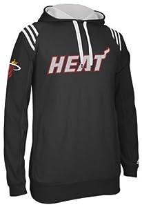 Miami Heat Adidas 2013 NBA 3 Stripe Pullover Sweatshirt by adidas