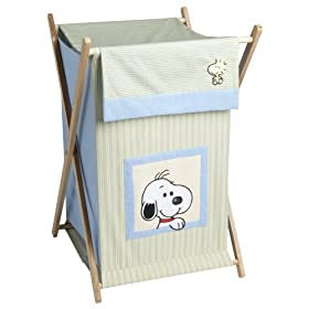 Lambs & Ivy Peek a Boo Snoopy Hamper