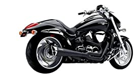Cobra Black Tri-Pro 2-Into-1 Exhaust - Yamaha XVS1300 2007-2009, 2011 - 2480B