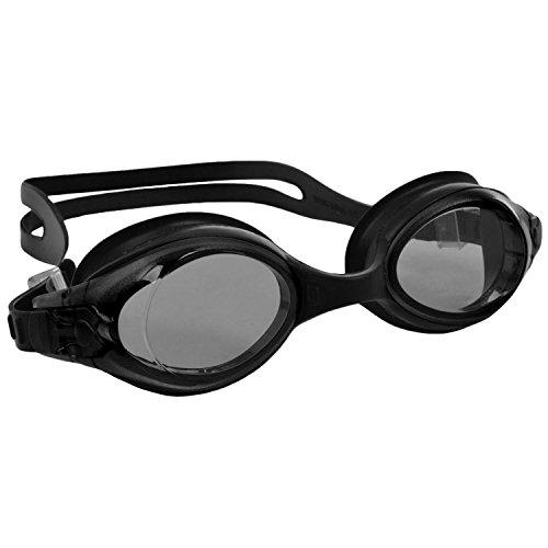 Marni adulti UV antinebbia occhialini da nuoto, Smoke, Taglia unica