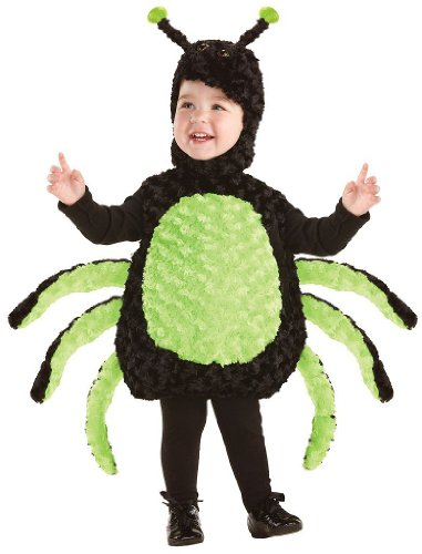 [Belly Babies Spider Costume - Large] (Little Miss Muffet Outfit)