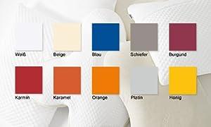 TEMPUR® Jersey-Bezug für SCHLAFKISSEN Millennium/Original S/M/L/XL orange