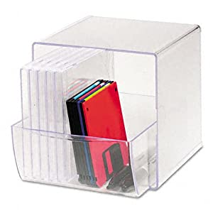 Rubbermaid spacemaker cube organizer with - Rubbermaid desk organizer ...