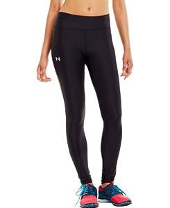 Under Armour Women's UA Authentic HeatGear® Tights  Black/Silver Small