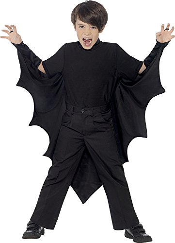 Vampire Bat Wings With High Collar Costume for Kids