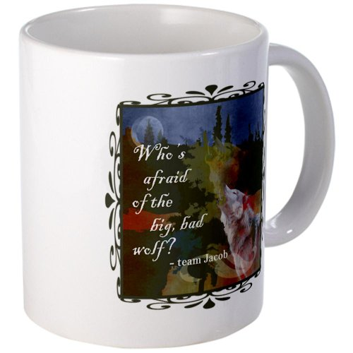 Cafepress Team Jacob Wolf Mug - Standard