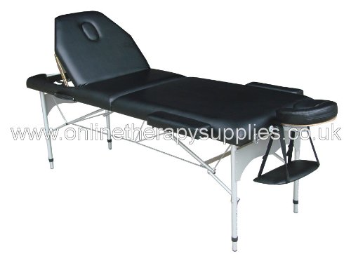 Alu-lift Pro II Massage Table with Trolley Case