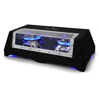 """Auna CB3-5050 massiger Doppel-Subwoofer 2x 30cm (12"""") Tieftöner mit Lichteffekt 2000W von Auna auf Reifen Onlineshop"""