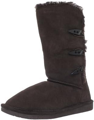 BEARPAW Women's Sarah 10-Inch Boot,Chocolate,6 M US