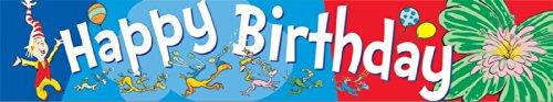 Eureka Dr. Seuss Happy Birthday Deco Trim
