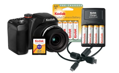 Máy Ảnh Kodak EasyShare Z5010 Camera Bundle ( 21x Optical Zoom and HD Video)