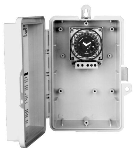 Intermatic Gmxfm1D50-I-12 Electronic 24-Hour/7-Day 12-Volt Dc Time Switch With Nema Indoor Plastic Enclosure