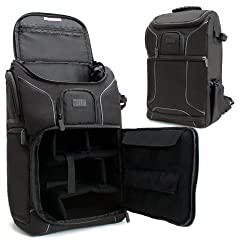 Professional Gear Backpack for Digital SLR Canon Cameras , up to 17