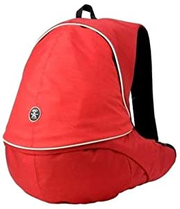 "Crumpler - The Royal Court ""L"" - Sac pour appareil photo - Rouge/corail/blanc gris (Import Allemagne)"