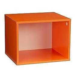 Single Cubby in Orange