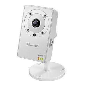 I-O DATA 暗視機能・マイク・スピーカー付無線LAN対応ネットワークカメラ「Qwatch」 TS-WLC2