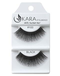 Kara 100% Human Hair Eyelashes #100