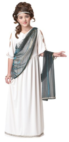 Roman Greek Princess Child Costume - Medium