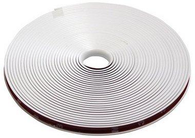汎用 リムガード ホイールガード リムプロテクター 8m (ホワイト)