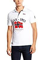 Geographical Norway Polo Kedimo (Blanco)