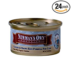 Newman's Own Organics Canned Cat Food