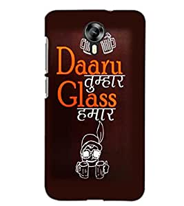 MICROMAX CANVAS XPRESS 2 E313 DAARU Back Cover by PRINTSWAG
