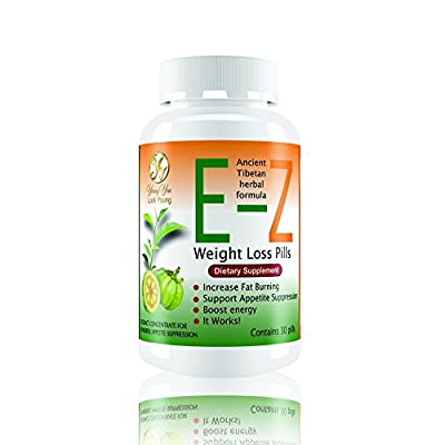 Easy E-Z Intensive Weight Loss. Super Energy and Appetite Suppressant Supplement with Garcinia Cambogia Extract. Satisfaction Guaranteed. One Pill a Day. Works from the first day.