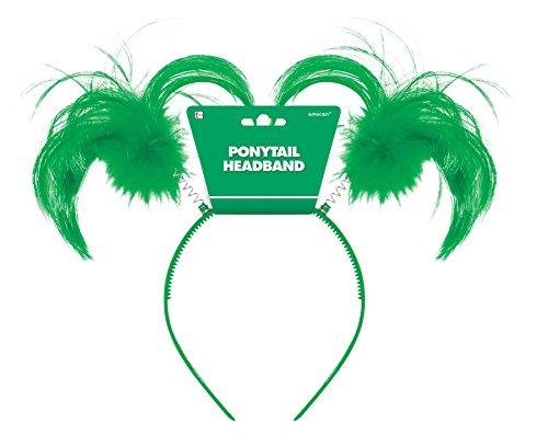 Green Ponytail Headbopper - 1