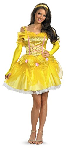 Disney's Princess Belle Deluxe Adult Costume Size:Small