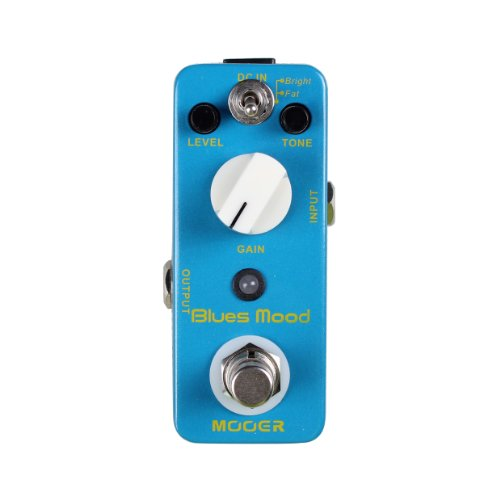 Mooer Blues Mood Pedale Overdrive Medio Guadagno