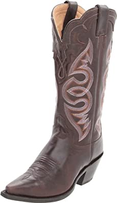 "Justin Boots Women's Western Fashion 11"" Boot Narrow Square Toe Leather Outsole,Testa Torino,7 B US"