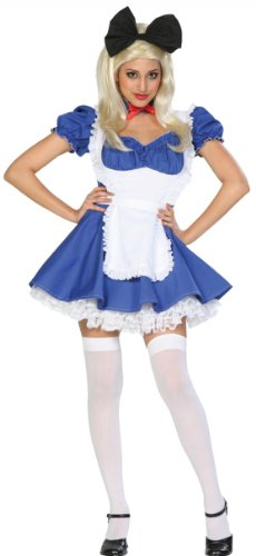 Alice of Wonderland Adult Costume Extra Large