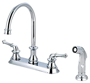 Pioneer 2DM301 TB Two Handle Kitchen Faucet PVD Tuscany