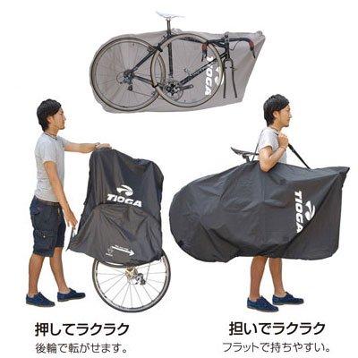 コクーン ポーチタイプ COCOON POUCH-BK タイオガ TIOGA 輪行袋 BAR02800