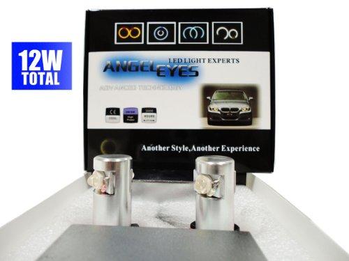H8 Led Halo Upgrade Bulb Set For Bmw Angel Eyes Ultra Blue E92 M3 Z4
