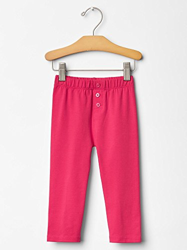 Gap Baby Button Leggings Size 18-24 M front-844459