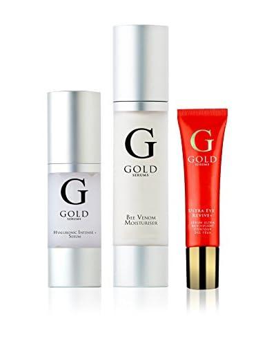 Gold Serums Set Facial 3 Uds.