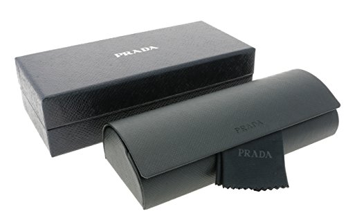 Prada Saffiano Medium Spectacles Glasses Eyeglasses Case + Lense Cloth Boxed Set