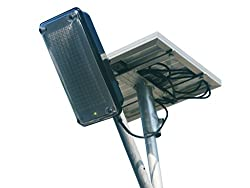 Infinite Solar 4W Solar LED Street Light with inbuilt battery and 5W Solar Panel (All included)