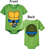 Teenage Mutant Ninja Turtles Green Costume Infant Baby Onesie Romper