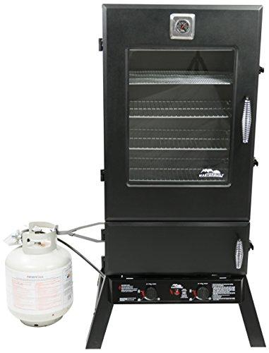 Masterbuilt 20050614 Propane Smoker, 44-Inch, Black (Porcelain Smoker compare prices)