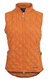 EOUS Brighton Stretch Vest, Pumpkin, X-Small